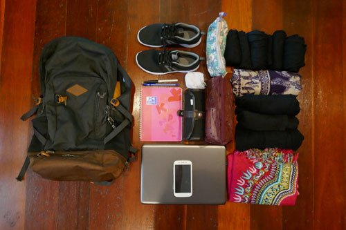 Comment voyager léger