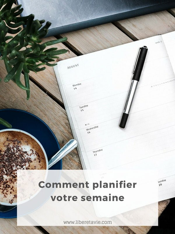 Comment mieux planifier votre semaine, pour accomplir la plupart de vos tâches importantes tout en laissant du temps libre pour ce qui vous est essentiel.
