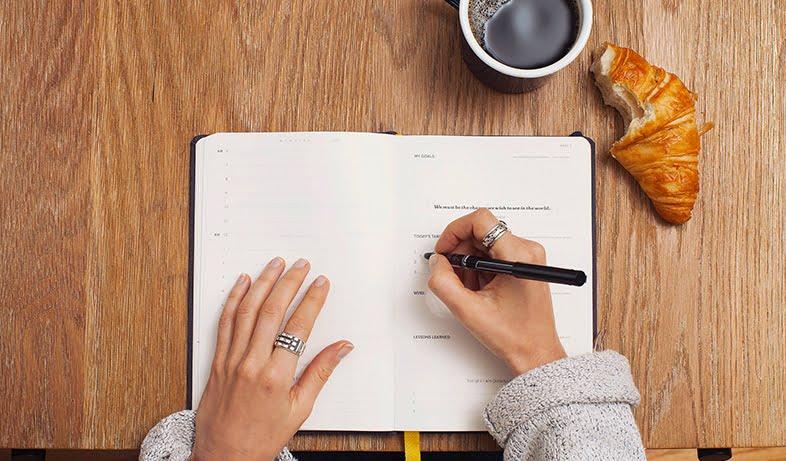 Réalisez vos objectifs grâce aux trackers du bullet journal