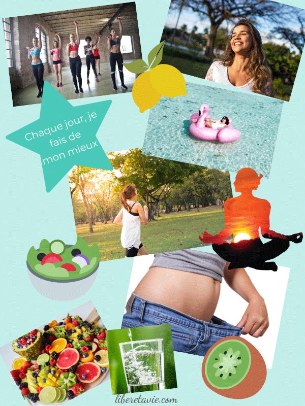 Comment créer votre tableau de visualisation - visualisation remise en forme, santé, healthy
